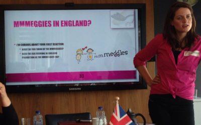 Engelse boerinnen willen graag uitleg over mmmEggies